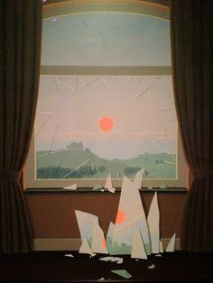 """orlyous:  René Magritte - Evening Falls II (Le soir qui tombe), 1964 via goo22   """