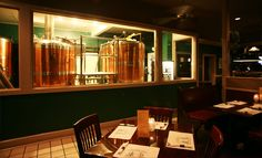 Coddington Brewing Company: Located in Middletown, RI (right next door to Newport), Coddington brews their own beers and offers seafood, steaks, pastas, and traditional pub food.