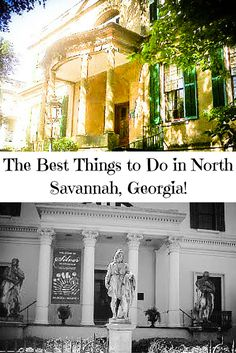 Find out the best things to do in North Savannah, Georgia from the Telfair Museum to historic homes!