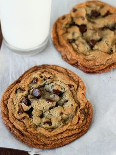 Chocolate chip cookies for two. Just two cookies recipe.