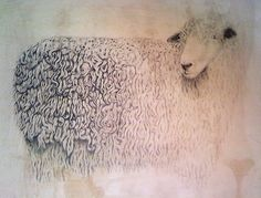 meagan donegan sheep print
