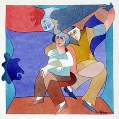 Obra da artista Rosalia Lerner