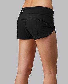 Run: Speed Short by Lululemon. $54. Maybe these shorts will help me get these legs...
