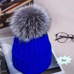 Kids cotton hat in a super soft and gentle form. Perfect for kids this winter season. Faux Fur Pom Pom, Pom Pom Hat, Bobble Hats, Cotton Hat, Winter Hats For Women, Knit Beanie Hat, Baby Winter, Knitted Hats, Ski
