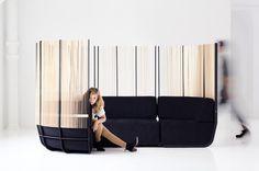 knauf + brown mimics tall grass in semi-private hull sofa