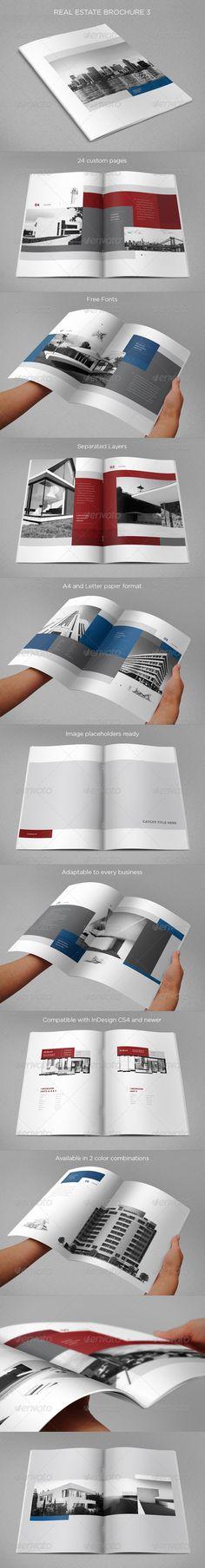 Real Estate Brochure 3 - Brochures Print Templates