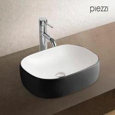 vasque rectangulaire en cramique noire et blanche nata noir et blanc achat vente