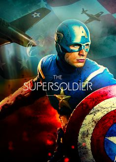 """""""A super soldier...like you""""  """"I've got some work to do before I'm like Captain America hon""""  """"You're my Captain America"""" <3"""
