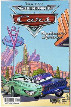 "Publisher: Boom Comics. CARS Radiator Springs #1.{S t o c kp h o t o}. Name of Comic(s)/Title?. : CARS Radiator Springs #1. Art by/Featuring/Stories?. : Featuring an issue of CARS comic.Artist(s) : Silvio Spotti.Writer(s): Alan Porter.Story(s): ""Radiator Springs - Part 1"".Rated: PG. | eBay!"