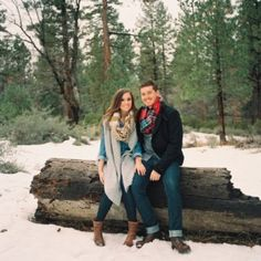 5 Tips for Amazing Winter Engagement Photos - Loverly