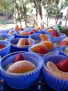 Frutinhas na forminha