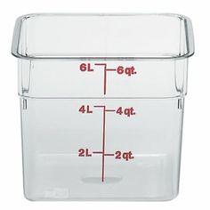 6 Qt Square Container Cam-Wear - Cambro (6SFSCW-135)