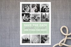 Photo Gallery Save the Date Cards by The Social Type at minted.com