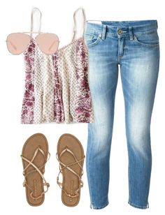 """~Hurry up, spring~"" by emilygrace9 ❤ liked on Polyvore featuring Dondup, American Eagle Outfitters, Billabong and Bally"