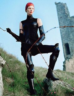 """""""Dame of Thrones"""" W magazine September 2012 (part I) Photographer: Tim Walker Styling: Jacob K Model: Kristen McMenamy"""