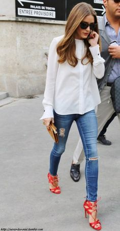 Olivia Palermo DENIM LOOK