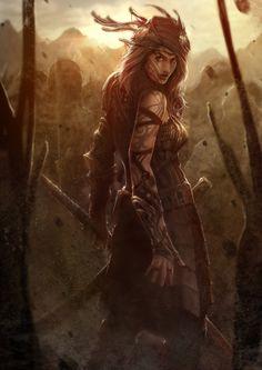 one of my favorite warrior women