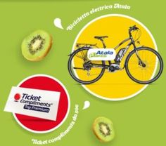 Concorso Zespri Collection: ticket compliments e bici in palio