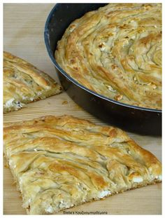 Pita Recipes, Greek Recipes, Cooking Recipes, Cookie Dough Pie, Cheese Twists, Greek Pastries, Greek Desserts, Savoury Baking, Different Recipes