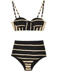 Retro stripes for the beach … .