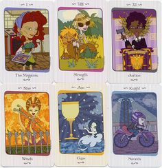 Vanessa Tarot by Lynyrd Narciso - cute, right? Thinking of getting them.
