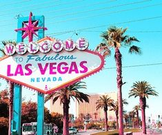 Las Vegas welcome sign - it's essential to get a shot of this when you arrive!