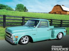 1970 Chevy C10 Stepside - A Wolf In Sheep's Clothing - Classic Trucks