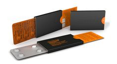 Con el uso del naranja y el negro, y este formato fino consiguen un packaging discreto y elegante para Levitra, las pastillas para el tratar la disfunción eréctil, diseñado por Burgopak.