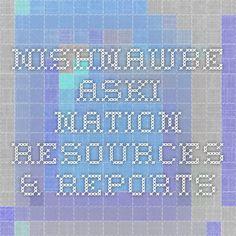 Nishnawbe Aski Nation - Resources & Reports