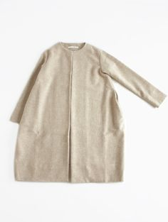 drop pocket coat:evameva