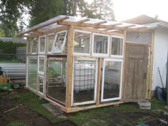 my beautiful greenhouse that my wonderful husband designed