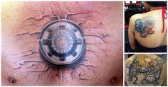 20 #Tattoos To Geek-Out About