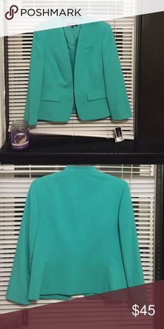 Nine West suit jacket Mint green suit jacket. New with tags Nine West Jackets & Coats Blazers