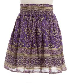 Purple Skirt very classy i think