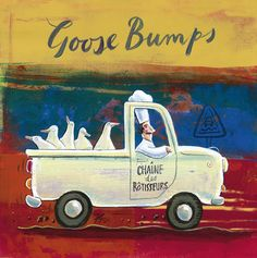 Goose Bumps - Frans Groenewald Hand Painting Art, Painting Frames, Painting Prints, Paintings, Pictures For Kitchen Walls, Chefs, Decoupage, Bump Pictures, South African Artists
