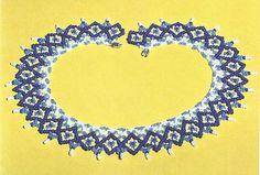 Изготовление ажурного полотна одной иглой