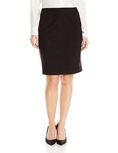 Calvin Klein Women's Petite Fashion Skirt, Black, 4 Petite *** More info could be found at the image url.