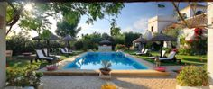 Halfway between Seville and Jerez stands a whitewashed hacienda brimming with hospitality. The exclusive Hacienda de San Rafael balances rustic charm with modern sophistication. Spanish House, Spanish Style, Spanish Courtyard, Porch And Terrace, Seville Spain, Romantic Destinations, Garden Pool, Outdoor Entertaining, Beautiful World