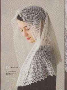 Tradition of lace shawl knitting in Shetland - традиция кружево шаль вязание на шетландских островах - Вязание - Страна Мам