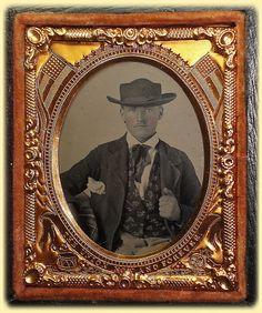 Interesting civil war era frame.  1863-65