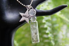 Make a Wish Bottle Necklace via www.craftsunleashed.com