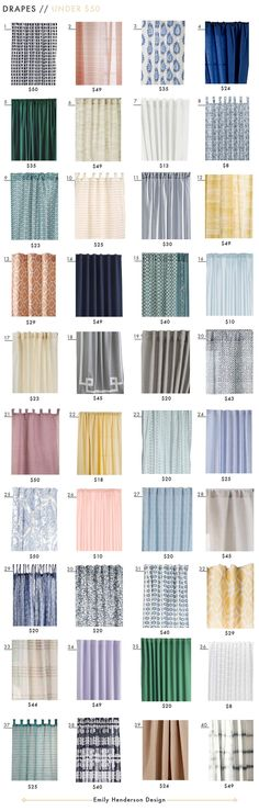 Budget Friendly Ready-made Curtain Roundup