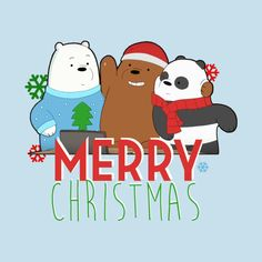 Check out this awesome 'Merry+Christmas+Bears' design on