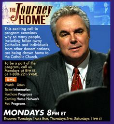 "EWTN's ""The Journey Home"" - watch replays in the EWTN Youtube channel  Look for Kelly Nieto's gripping testimony. She is a former atheist."