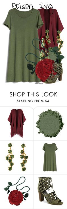 """""""Poison Ivy // Oktoberfest"""" by amarie104 ❤ liked on Polyvore featuring WearAll, Madina Visconti di Modrone, Gap, Emanuel Ungaro and G by Guess"""