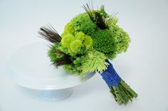 Green Hypericum Berry and hydrangea bridal bouquet | Thursday, March 17, 2011