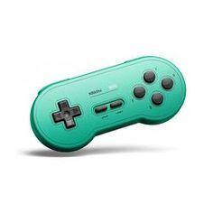 8BitDo SN30 GP Bluetooth Gamepad - Grün Bluetooth, Game Controller, Console, Cool Stuff, Games, Glass Ball, Gaming, Roman Consul, Plays