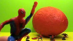HUGE SPIDERMAN Giant surprise egg unboxing toys Un enorme huevo con una abertura sorpresa - http://www.princeoftoys.visiblehorizon.org/videodccollector/huge-spiderman-giant-surprise-egg-unboxing-toys-un-enorme-huevo-con-una-abertura-sorpresa-2/
