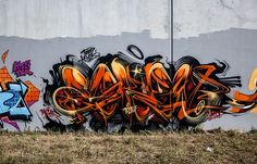 Juxtapoz Magazine - Graffiti, New Askew piece