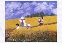 """""""Cornfield"""" by Heide Dahl"""